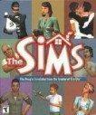 Bild på fodralet till spelet The Sims.