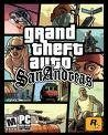 Bild på fodralet till spelet Grand Theft Auto (GTA) - San Andreas.