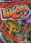 Bild på fodralet till spelet Roller Coaster Tycoon 2.