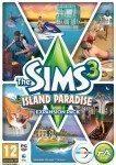 Bild på fodralet till spelet The Sims 3 - Semesterparadis.