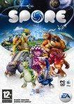 Bild på fodralet till spelet Spore.