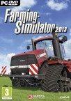 Bild på fodralet till spelet Farming Simulator 2013.