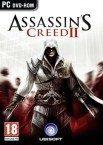 Bild på fodralet till spelet Assassins Creed 2.